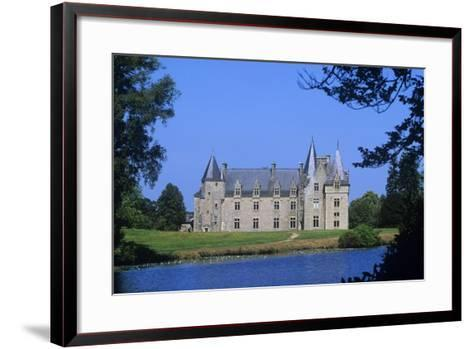 France, Brittany, Chateau De La Motte Beaumanoir--Framed Art Print
