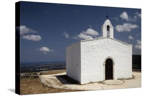 Italy, Puglia, Monopoli, Loggia of Pilate, View of St Michele Church--Stretched Canvas Print