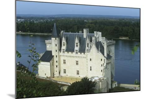 France, Centre Montsoreau Castle Fortress--Mounted Giclee Print