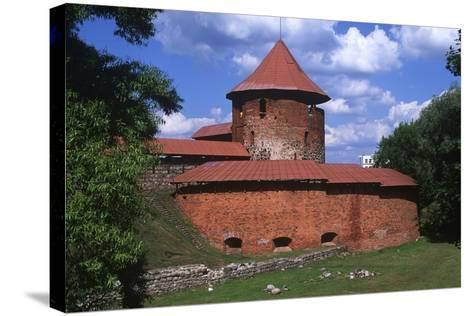 Lithuania, Central Lithuania, Kaunas, Kaunas Castle--Stretched Canvas Print
