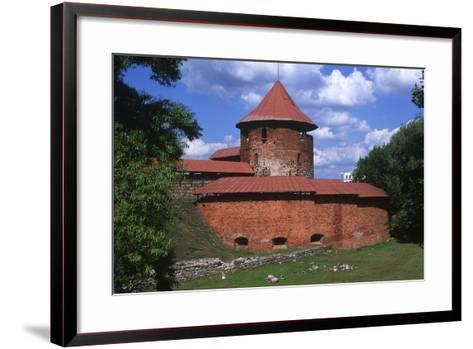 Lithuania, Central Lithuania, Kaunas, Kaunas Castle--Framed Art Print