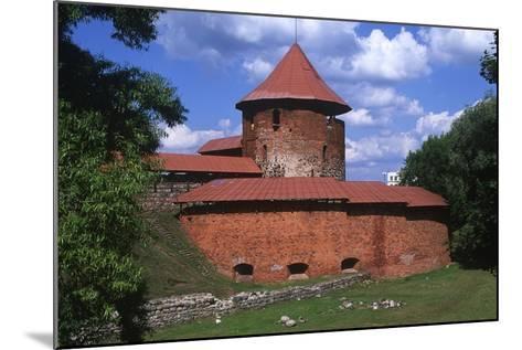 Lithuania, Central Lithuania, Kaunas, Kaunas Castle--Mounted Giclee Print