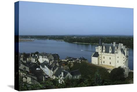 France, Centre Montsoreau Castle Fortress--Stretched Canvas Print