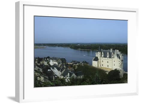 France, Centre Montsoreau Castle Fortress--Framed Art Print