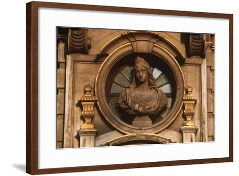 Belgium, Brussels, Grand Place, Decorative Detail--Framed Art Print