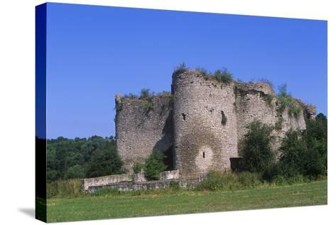 France, Lorraine, 13th Century Geroldseck Fortress--Stretched Canvas Print