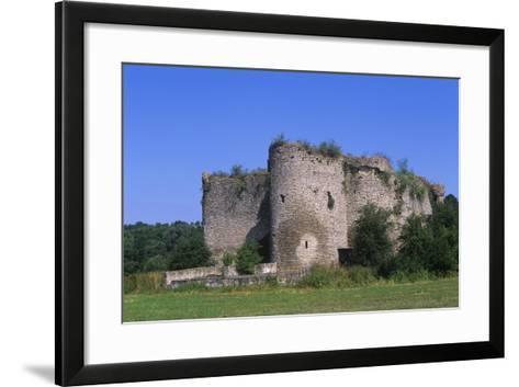 France, Lorraine, 13th Century Geroldseck Fortress--Framed Art Print