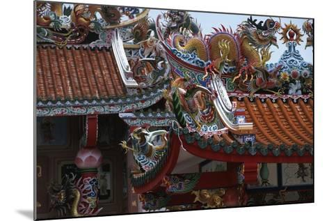 Thailand, Bangkok, Chinese Reliquary Nearby Floating Market--Mounted Giclee Print