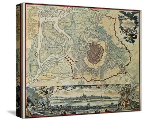 Austria, Vienna, Plan, 1720--Stretched Canvas Print
