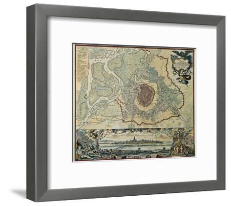 Austria, Vienna, Plan, 1720--Framed Art Print