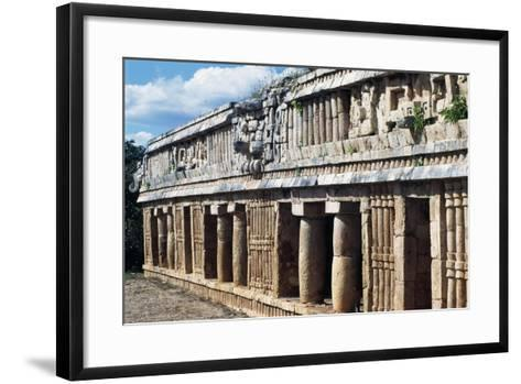 Palace of Sayil, Archaeological Site of Sayil, Yucatan, Mexico--Framed Art Print