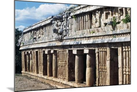 Palace of Sayil, Archaeological Site of Sayil, Yucatan, Mexico--Mounted Giclee Print