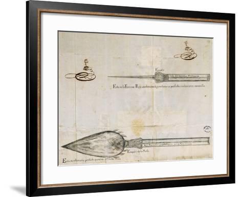 Arrows Used by Wayuu People, La Guajira Peninsula, Between Colombia and Venezuela, 1763--Framed Art Print
