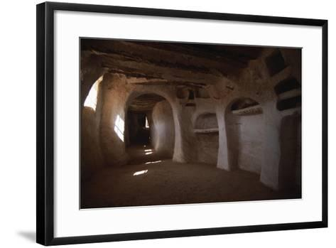 Algeria, M'Zab Valley, Ghardaia, Sidi Bou Gdemma Mosque--Framed Art Print