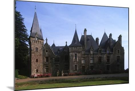 France, Brittany, Val-D'Izé, Ille-Et-Vilaine, Bois Cornillé Castle--Mounted Giclee Print