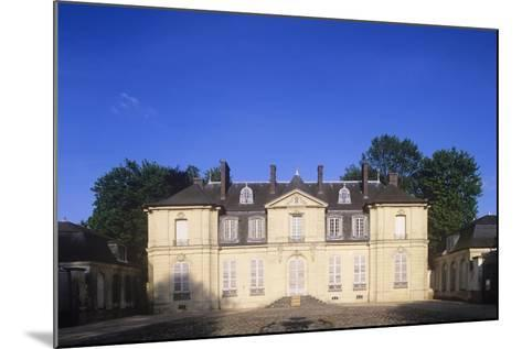 France, Ile-De-France, Jossigny, Entrance Gate to 18th Century Castle--Mounted Giclee Print