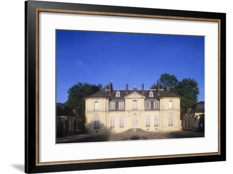 France, Ile-De-France, Jossigny, Entrance Gate to 18th Century Castle--Framed Art Print