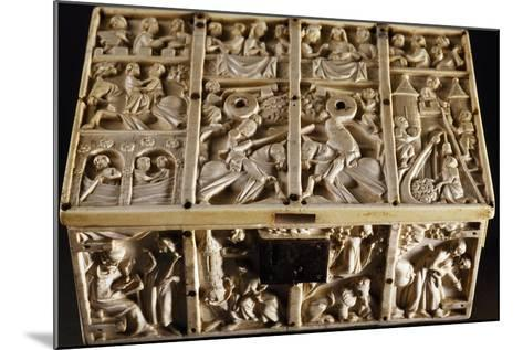 Jewelry Box with Roman and Allegorical Subjects, Ivory Decorated in Relief--Mounted Giclee Print
