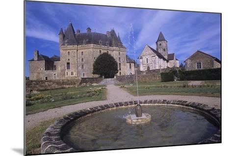 France, Aquitaine, Jumilhac-Le-Grand, Jumilhac Castle--Mounted Giclee Print