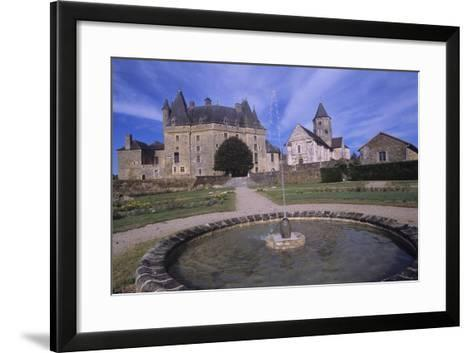 France, Aquitaine, Jumilhac-Le-Grand, Jumilhac Castle--Framed Art Print