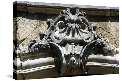 Architectural Detail from Chateau De Pommard, Burgundy, France--Stretched Canvas Print