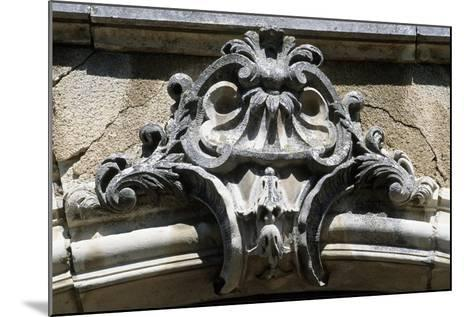 Architectural Detail from Chateau De Pommard, Burgundy, France--Mounted Giclee Print