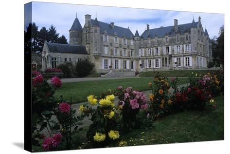 France, Vendée, Fontenay-Le-Comte, 16th Century Terre-Neuve Castle, in Renaissance Style--Stretched Canvas Print