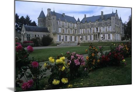 France, Vendée, Fontenay-Le-Comte, 16th Century Terre-Neuve Castle, in Renaissance Style--Mounted Giclee Print