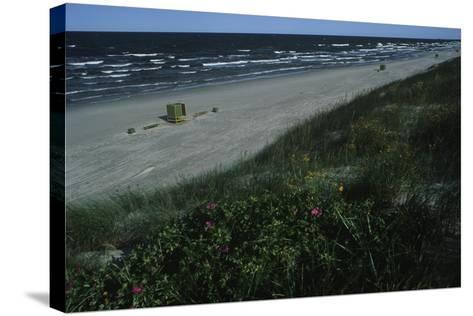 Lithuania, Neringa, Klaipeda, Curonian Spit, Beach Along Baltic Sea--Stretched Canvas Print