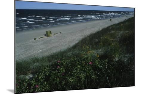 Lithuania, Neringa, Klaipeda, Curonian Spit, Beach Along Baltic Sea--Mounted Giclee Print