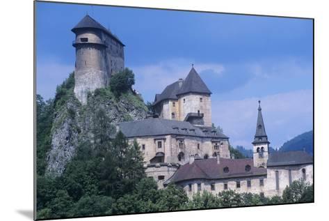 Slovakia, Oravsk  Podzámok, 13th Century Orava Castle--Mounted Giclee Print