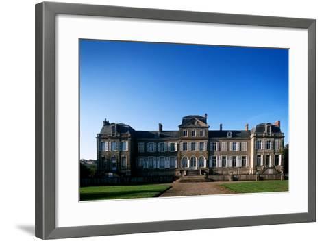 France, Pas-De-Calais, Saint-Martin-Boulogne, Ch?teau De La Caucherie--Framed Art Print