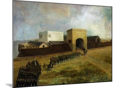 General Lavalle's Armed Forces Re-Entering Fort of Buenos Aires, December 1, 1828, Argentina--Mounted Giclee Print