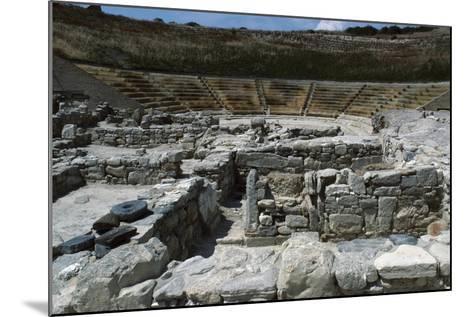 Theatre in Eraclea Minoa, Cattolica Eraclea, Sicily, Italy BC--Mounted Giclee Print