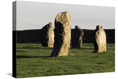 Megaliths at Avebury, Wiltshire, England, United Kingdom--Stretched Canvas Print