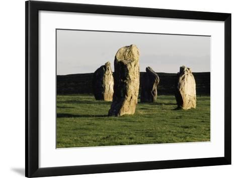 Megaliths at Avebury, Wiltshire, England, United Kingdom--Framed Art Print