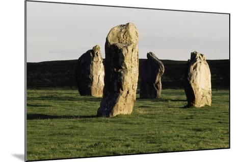 Megaliths at Avebury, Wiltshire, England, United Kingdom--Mounted Giclee Print