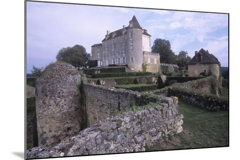 France, Aquitaine, Issac, Montreal Castle--Mounted Giclee Print