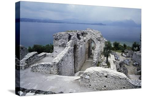 Grotto of Catullus, Roman Villa, Sirmione, Lombardy, Italy BC-1st Century AD--Stretched Canvas Print