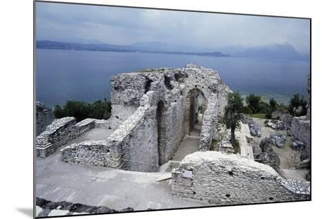 Grotto of Catullus, Roman Villa, Sirmione, Lombardy, Italy BC-1st Century AD--Mounted Giclee Print
