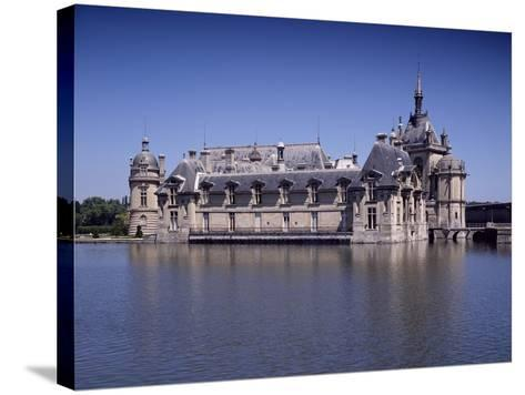Chateau De Chantilly, France, 16th Century--Stretched Canvas Print