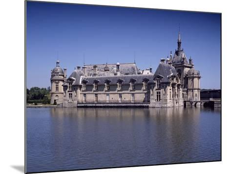 Chateau De Chantilly, France, 16th Century--Mounted Giclee Print
