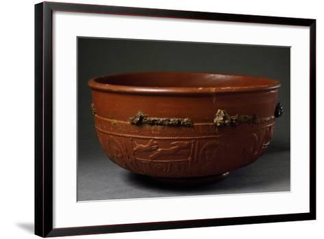 Terracotta Container from Imperial Age BC-5th Century AD--Framed Art Print