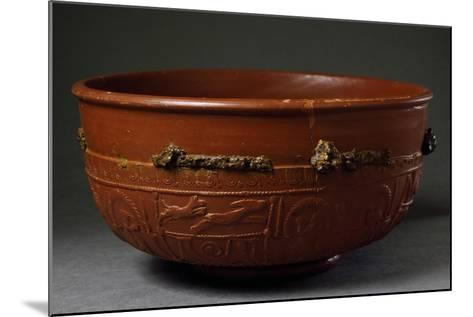 Terracotta Container from Imperial Age BC-5th Century AD--Mounted Giclee Print