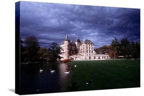 France, Rh?ne-Alpes, Vizille Castle, Built by Duke of Lesdigui?res in 17th Century--Stretched Canvas Print
