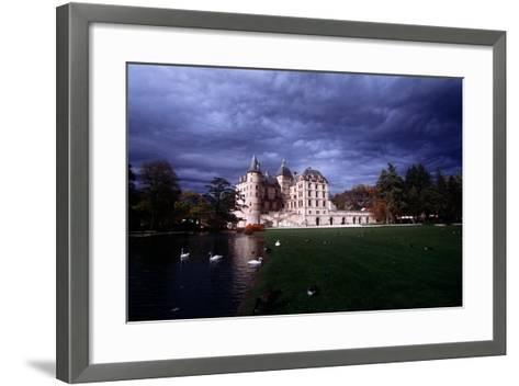 France, Rh?ne-Alpes, Vizille Castle, Built by Duke of Lesdigui?res in 17th Century--Framed Art Print
