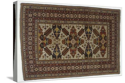 Rugs and Carpets: Azerbaijan - Zeichur Carpet--Stretched Canvas Print