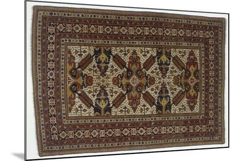 Rugs and Carpets: Azerbaijan - Zeichur Carpet--Mounted Giclee Print