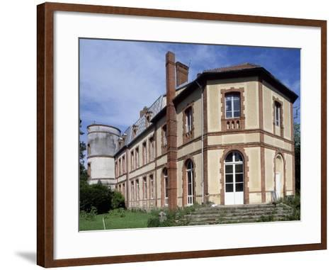 View of Chateau De Lumigny, Lumigny-Nesles-Ormeaux, Ile-De-France, France, 16th-19th Century--Framed Art Print