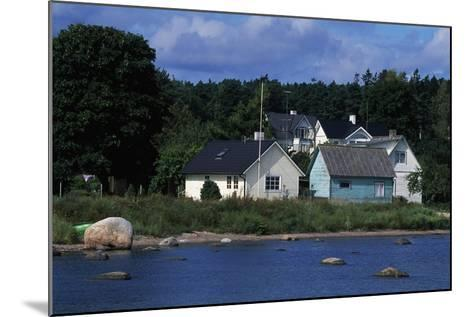 Typical Houses, Kasmu, Laane-Viru County, Estonia--Mounted Giclee Print